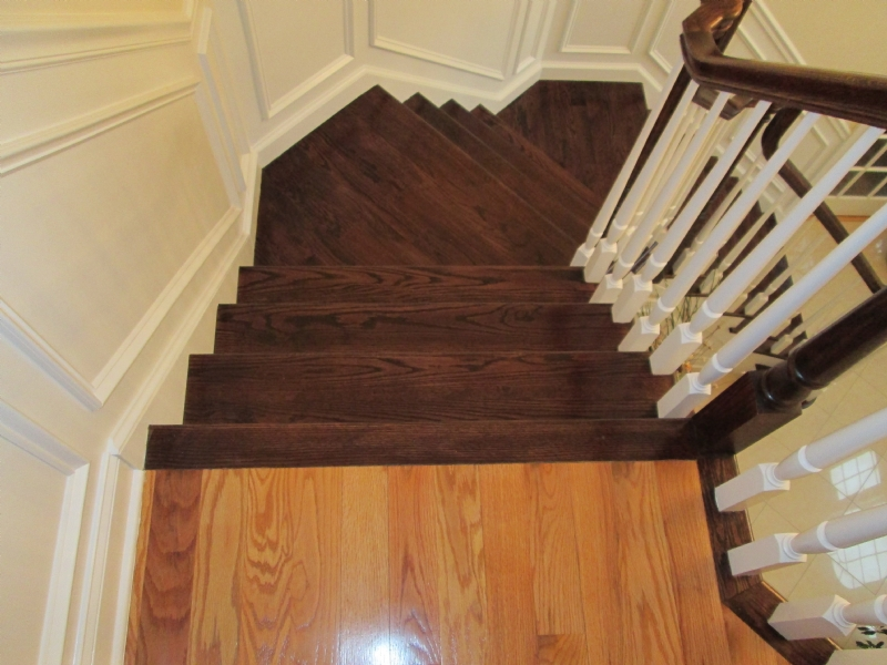 Superieur Nealu0027s Was Hired To Refinish The Stairs In This Bethany, Connecticut Home.